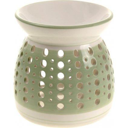 Aroma lampa keramická barva zelená