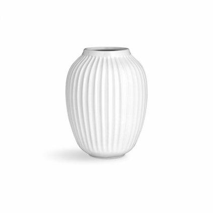 Keramická váza Hammershoi bílá 21 cm