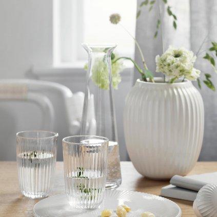 Keramická váza Hammershøi bílá 21 cm