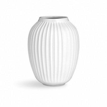 Keramická váza Hammershoi bílá 25,5 cm