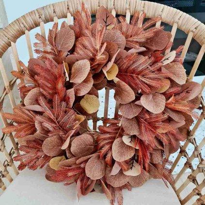 podzimni venec hnedy