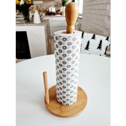 Bambusový stojan na papírové role