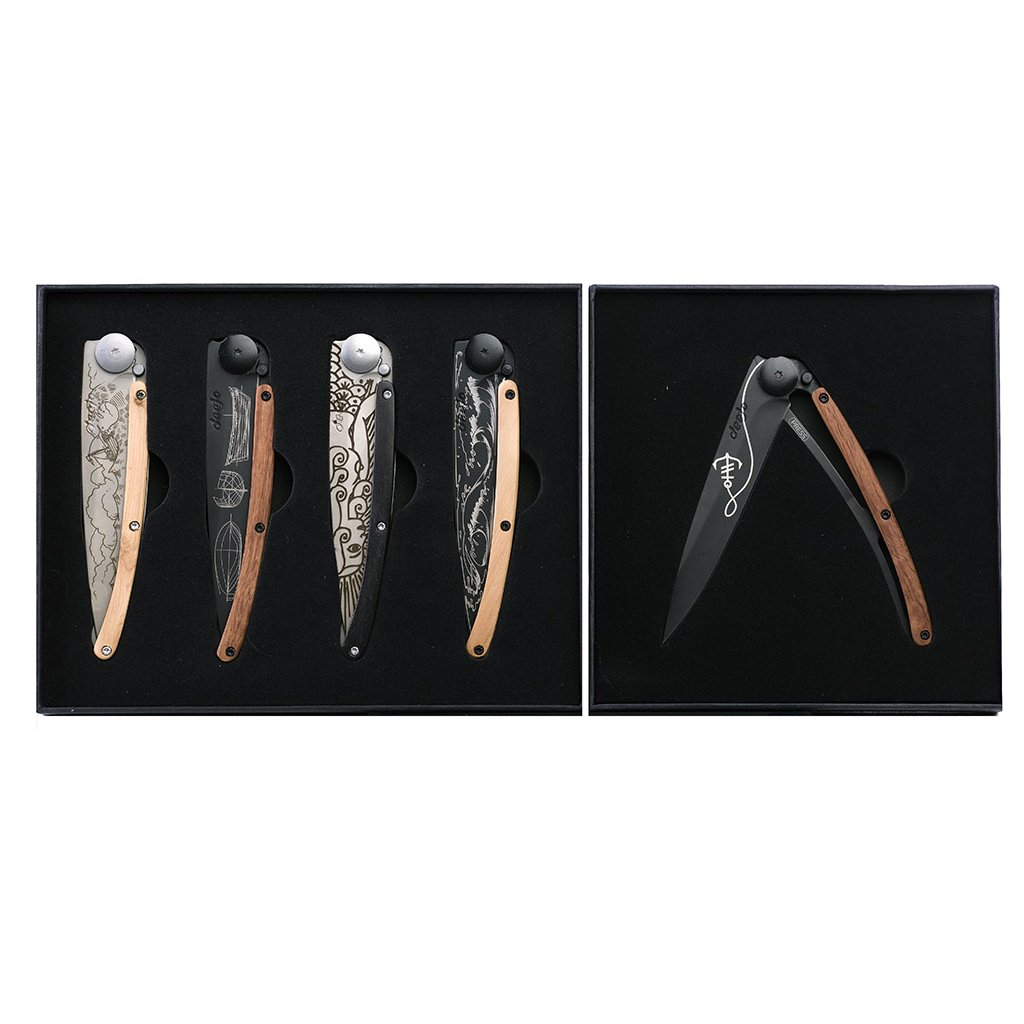 Sada kapesních nožů Deejo Ocean 37g