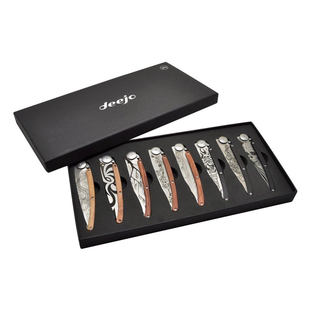 Sada kapesních nožů Deejo Tattoo 37g