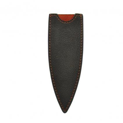 Kožené pouzdro pro nože 37g Deejo mocca