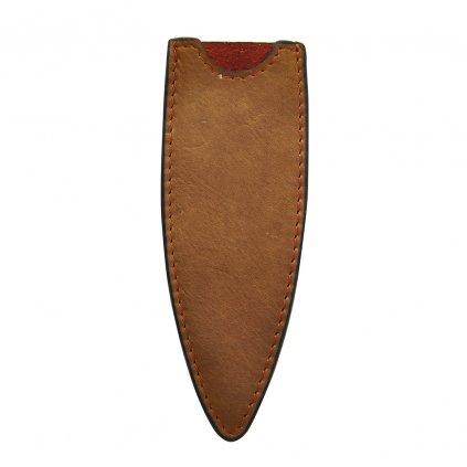 Kožené pouzdro pro nože 27g Deejo natural