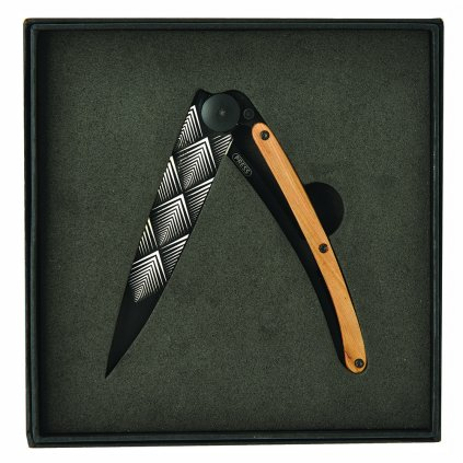 1169 kapesni nuz v darkovem baleni deejo dee042 tattoo black 37g art deco