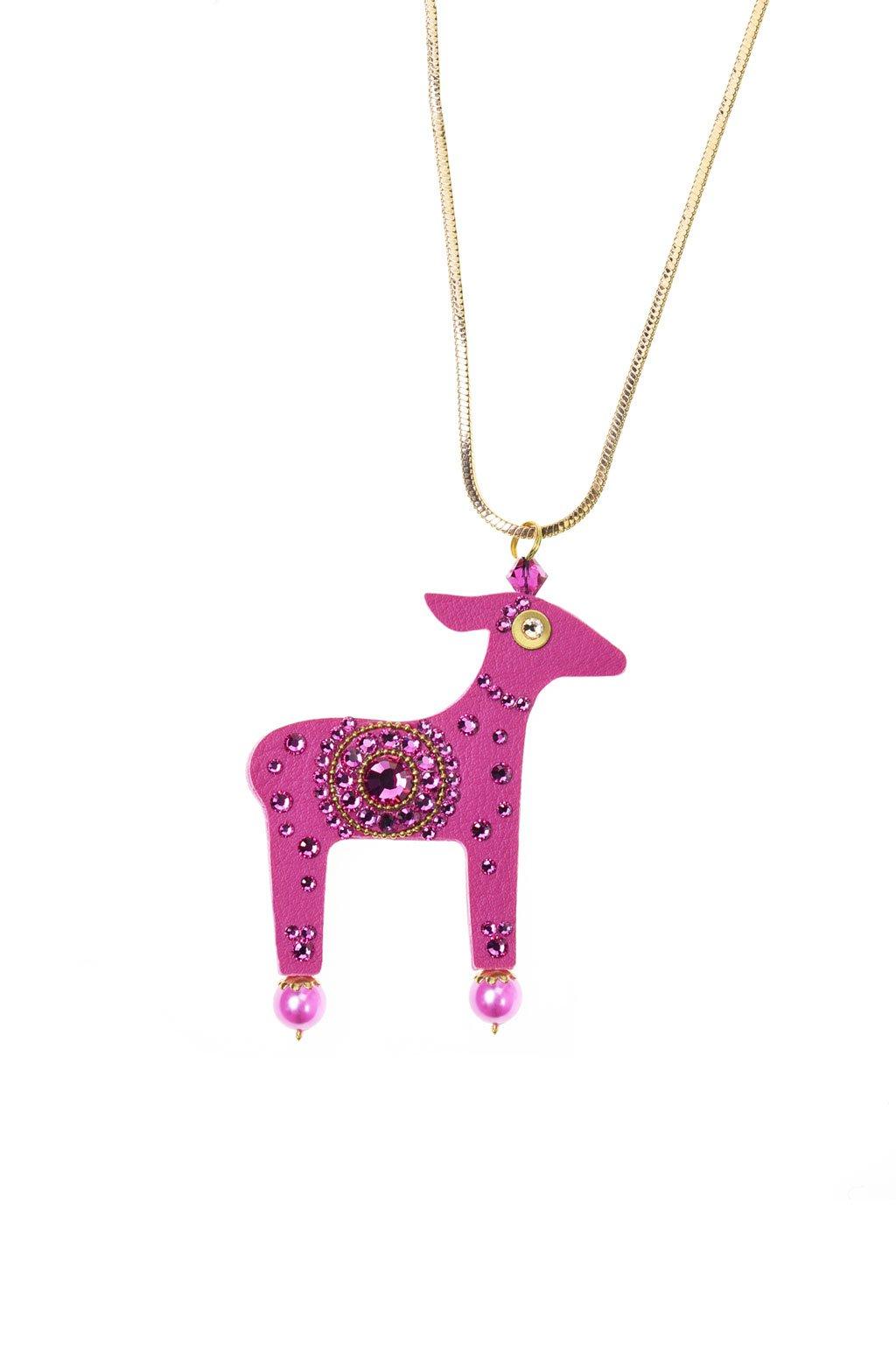Světle modrý náhrdelník