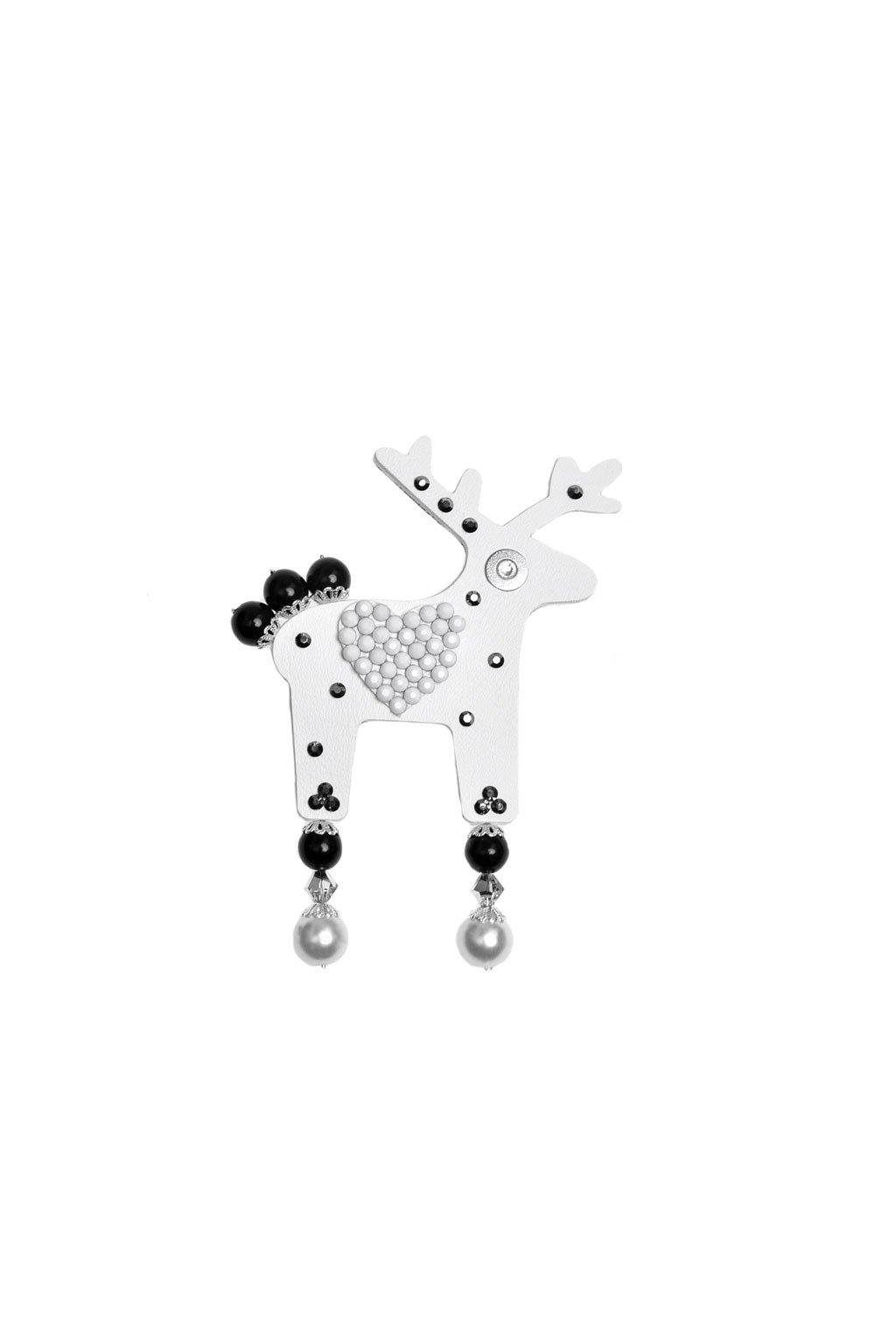 Meruňková jelení brož