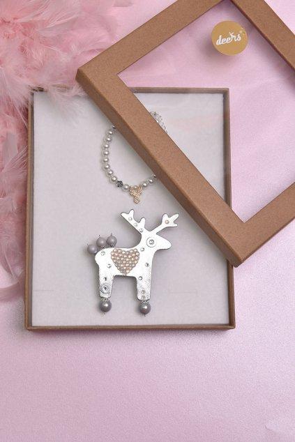 Měděný řetízkový náhrdelník