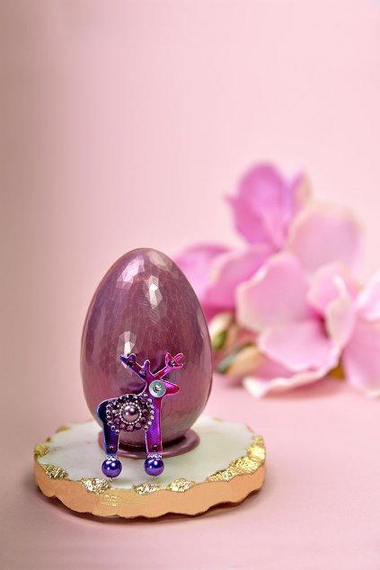 Čokoládové vajíčko s mini broží