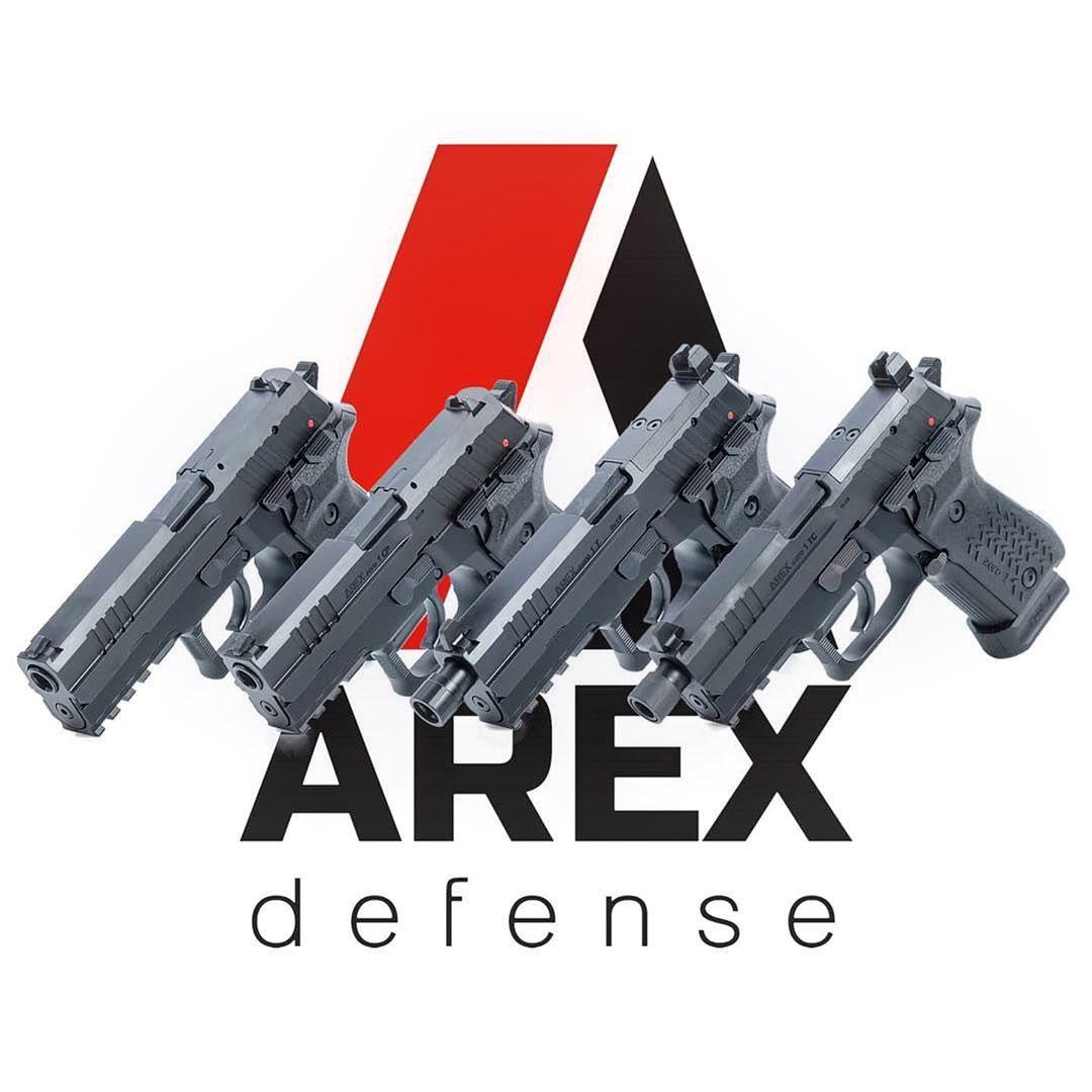 Pistole AREX - novinky ze Slovinska