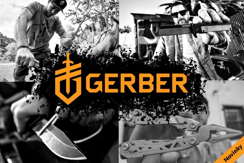 Gerber gear novinky
