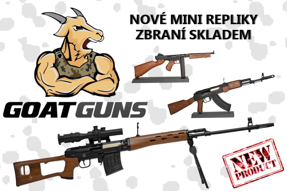 Minirepliky zbraní