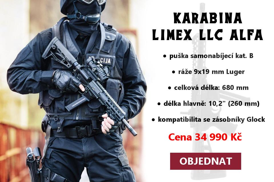 Samonabíjecí puška Limex LLC Alfa