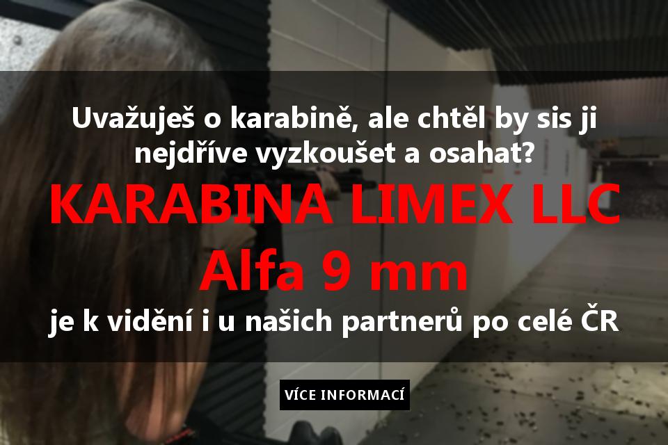 Karabina Limex LLC Alfa 9x19 mm Luger | Defendia.cz