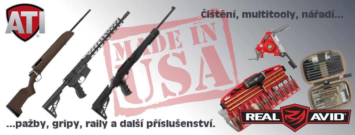 Čištění a příslušenství k USA zbraním