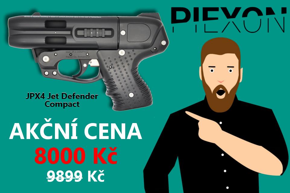 Pepřová pistole JPX4 Jet Defender Compact ve slevě | Defendia.cz