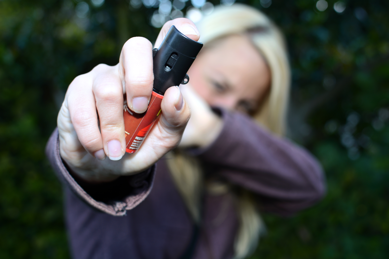 Pepřový sprej pro ženy