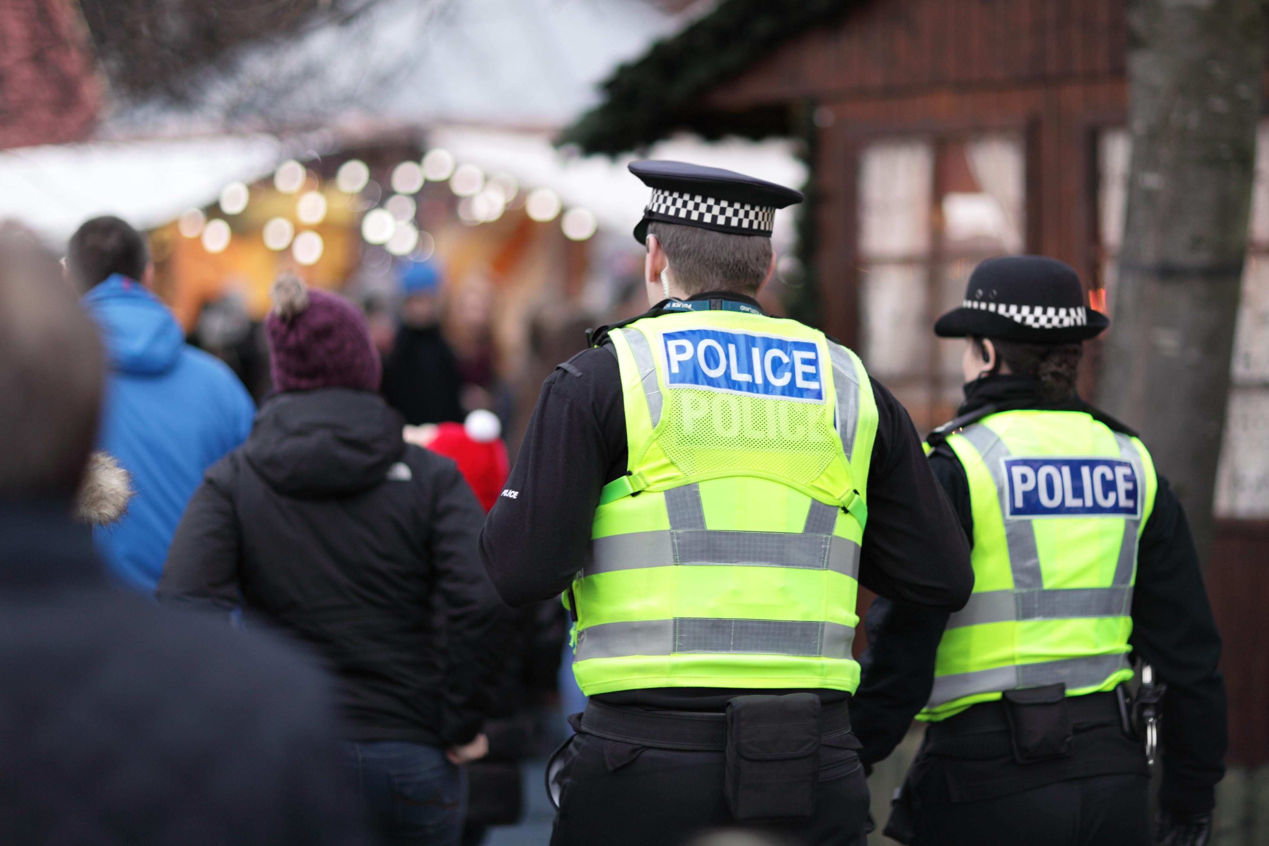 Policejní hlídka městské policie