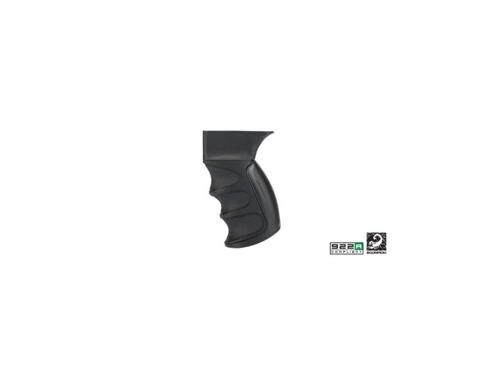 x1 ak 47 grip in black 89f