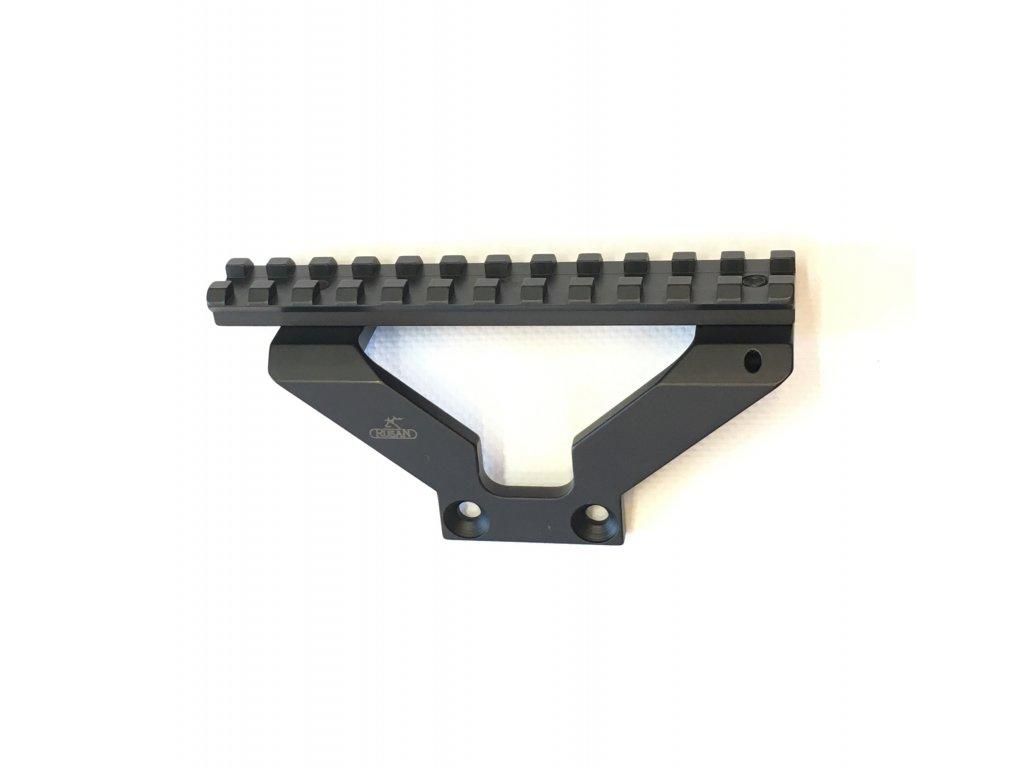 Boční montáž pro PAP/SKS, ocelová - picatinny rail