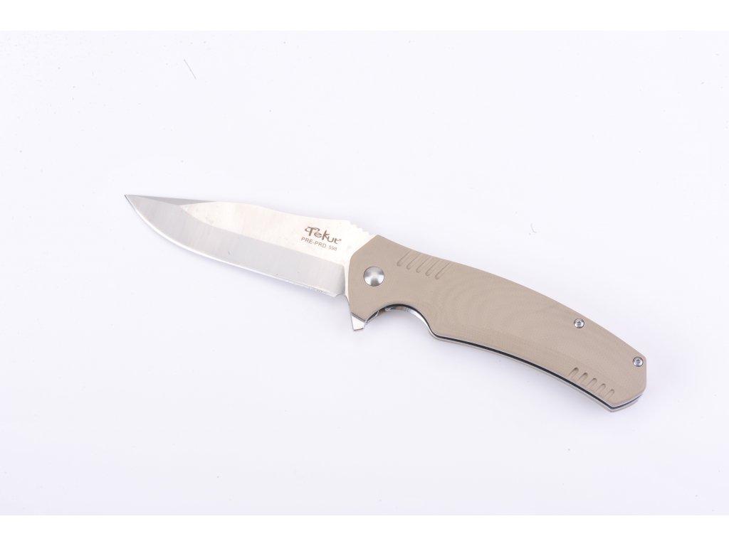 Zavírací nůž Nextorch Tekut Tiburon - pískový