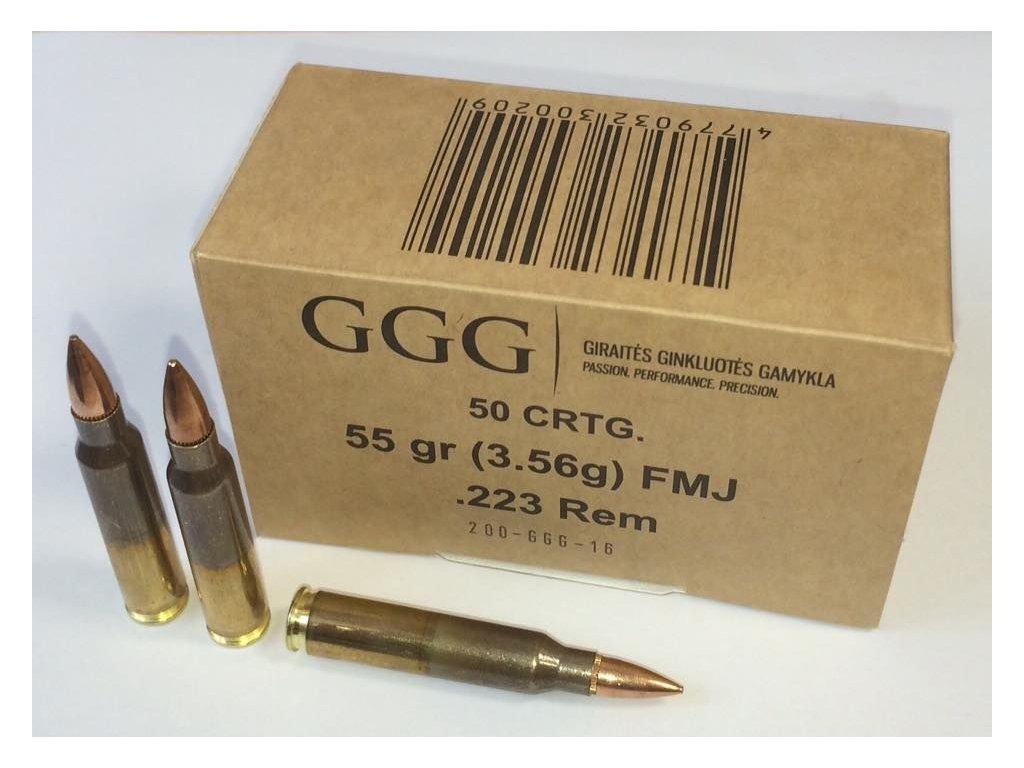 GGG .223 REM (55gr)