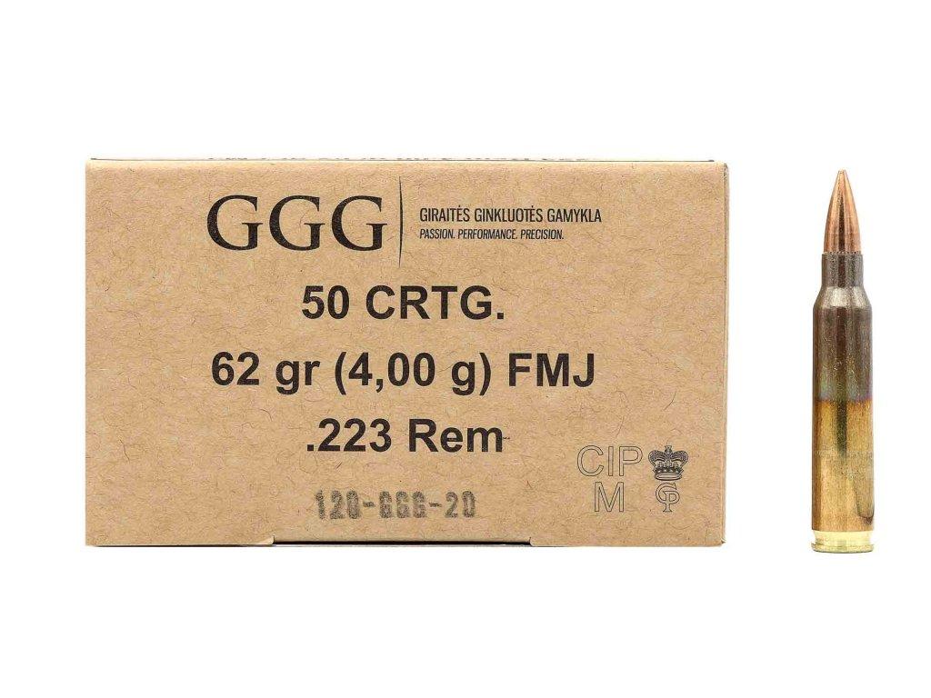 GGG .223rem (62gr) fmj