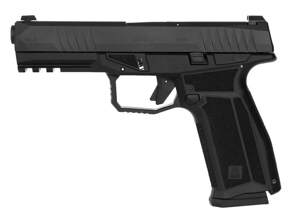 AREX delta Black L Gen.2 Side nobck