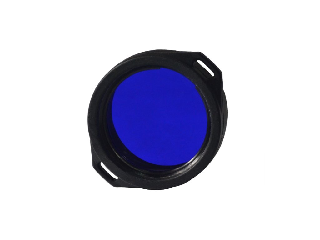 Modrý filtr AF-39 pro svítilny Armytek Predator/Viking
