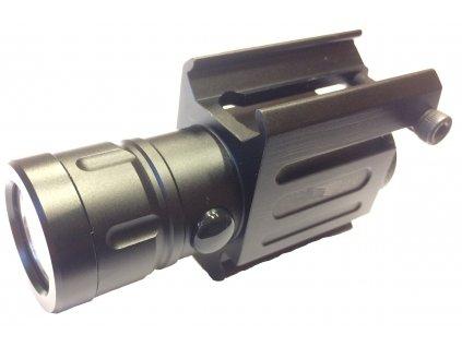 Taktická svítilna pro JPX/JPX4 laser, Picatinny rail