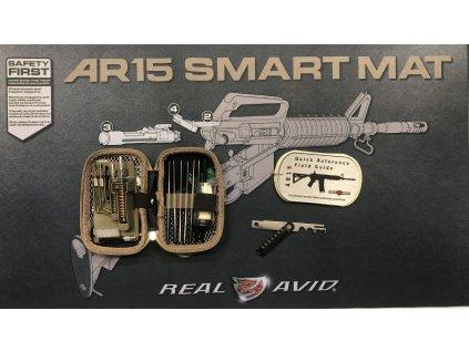 Velká čistící sada pro pušky AR15 Real Avid Cleaning Combo