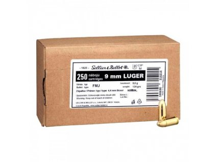 9 mm Luger Sellier&Bellot