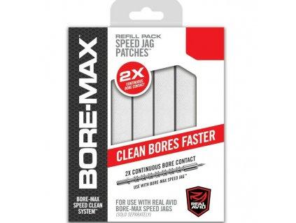 Čistící hadříky Bore-Max Speed Jag Patches