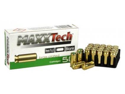 426005 maxxtech blank 9 mm pak brass 50 rnd 426005 216797