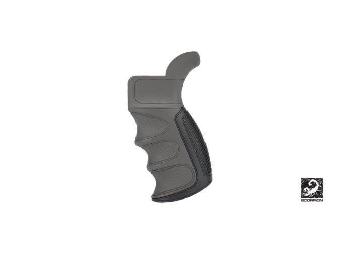 x1 ar 15 grip in destroyer gray 240