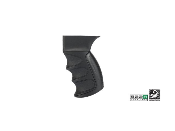 saiga scorpion recoil pistol grip stock color black 209