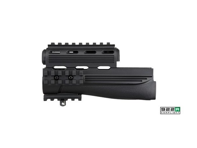 strikeforce ak 47 handguard in black 3b2