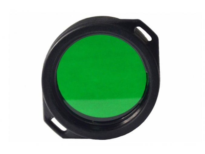 Zelený filtr AF-39 pro svítilny Armytek Predator/Viking