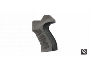 x2 ar 15 grip in destroyer gray 2d6