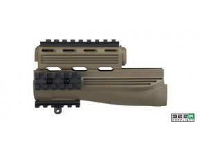 strikeforce ak 47 handguard in flat dark earth a37