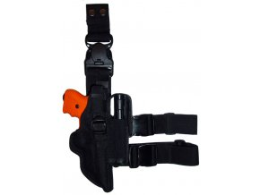 Taktické pouzdro JPX Cordura s kapsou, pravostranné