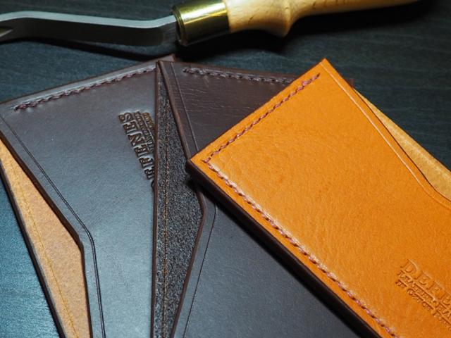 Ručně šité peněženky a pouzdra