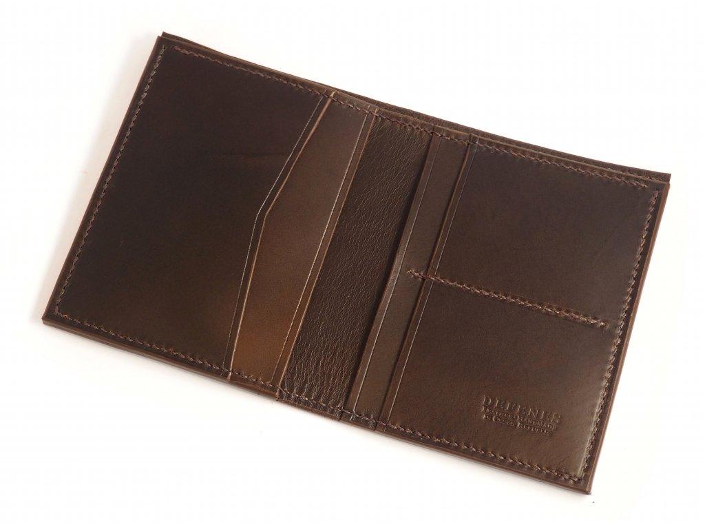 DEFENES Class L Peněženka, ruční výroba a šití
