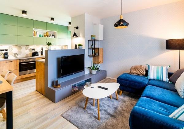 Kompletní rekonstrukce malého bytu v industriálním stylu se skandinávskými prvky