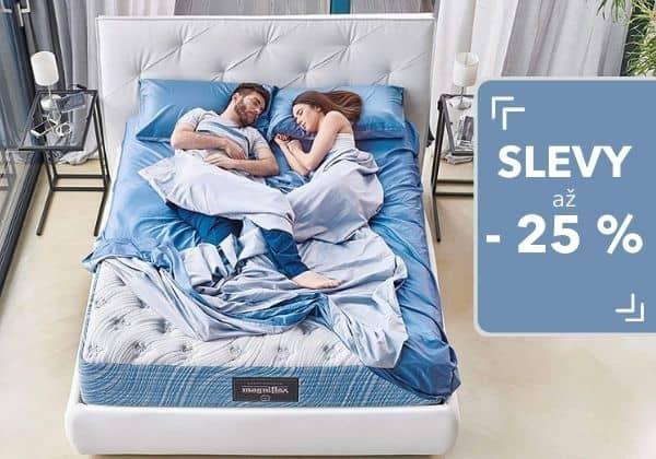 Dny zdravého spánku přináší slevy matrací a polštářů pro vás