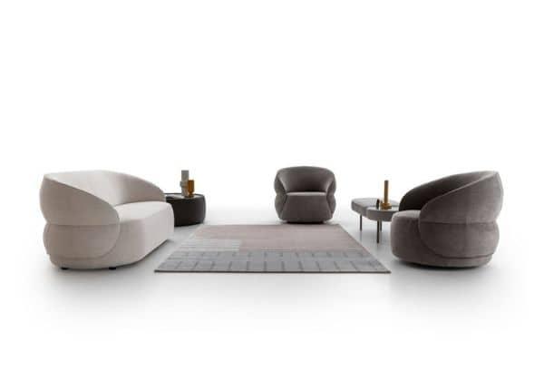 Nadčasově minimalistická kolekce nábytku Clip od Ditre Italia