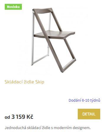 Skládací židle Skip