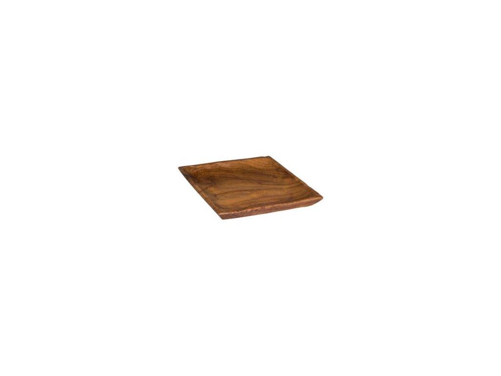 Dřevěný tác - hranatý